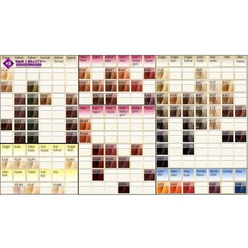 Wella Koleston Perfect | Trwała farba do włosów 7/4 60ml (4015600179670)