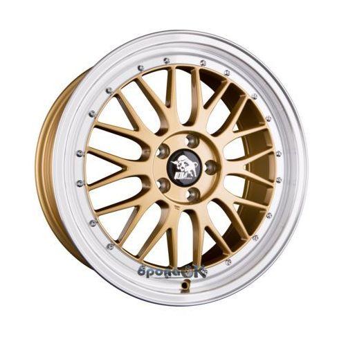 Ultra wheels ua3-lm gold rim polished einteilig 8.50 x 20 et 45