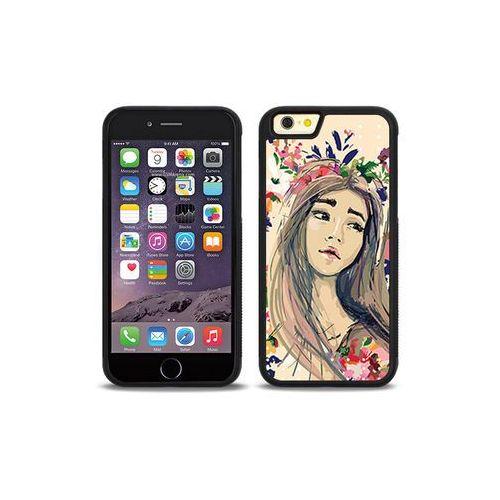Apple iPhone 6s - etui na telefon Aluminum Fantastic - kolorowy wianek