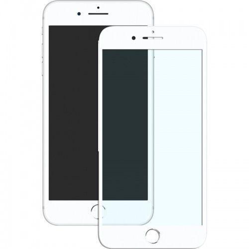Mocolo Szkło hartowane 3d full cover anti-blue tempered glass iphone 7 plus matt white (2000053566018)
