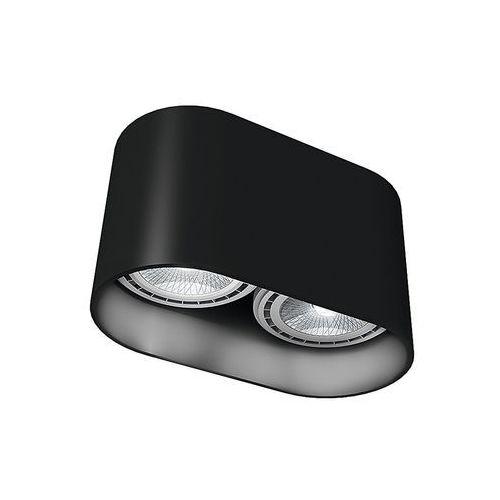 9240 OVAL LAMPA SUFITOWA CZARNA (5903139924092)