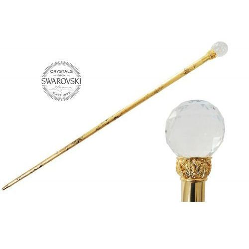 Laska swarovski crystal ball, gold shaft, ba w01or marki Pasotti