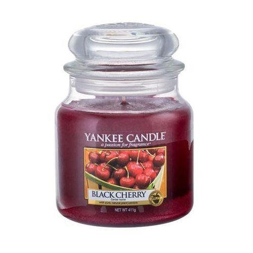 Yankee home Świeca yankee słoik średni black cherry - yssbc1 (5038580018196)