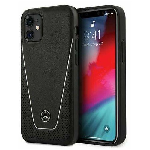 "Mercedes MEHCP12SCLSSI iPhone 12 mini 5,4"" czarny/black hardcase Dynamic Line, kolor czarny"