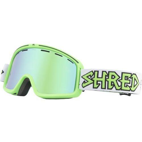Shred Gogle narciarskie, snowboardowe monocle air green carmel/green multilayer s2