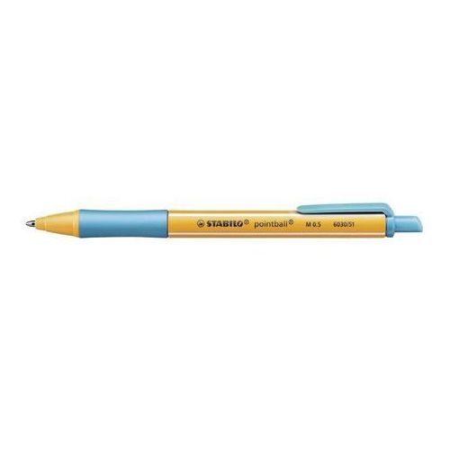 Stabilo Długopis pointball 6030/51 turkusowy (4006381437110)