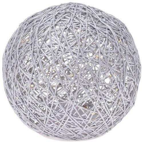 Świecąca kula na baterie z 15 LED, śr. 15 cm, ciepły biały (8719987531989)