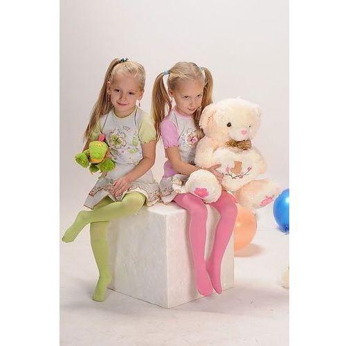 Yo! Rajstopy little lady art.ra 09 40 den 92-158 104-110, różowy neon, yo!