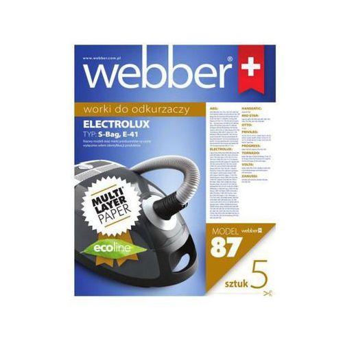Webber worki do odkurzaczy electrolux clario e41-(87) 5 szt. (5907265001177)