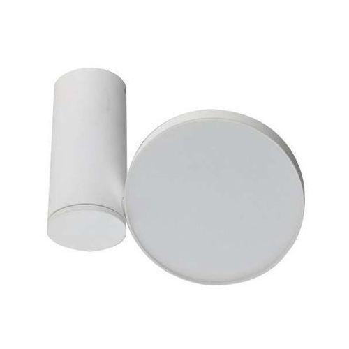 Spot LAMPA sufitowa GALENA LC1486-12W-WH Azzardo metalowa OPRAWA LED 12W biała