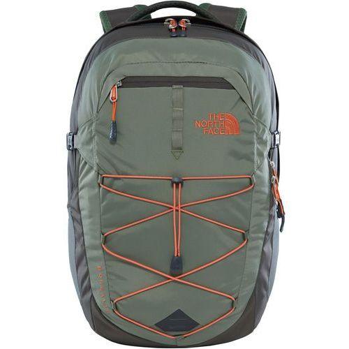 borealis plecak 28 l pomarańczowy/oliwkowy 2018 plecaki szkolne i turystyczne marki The north face