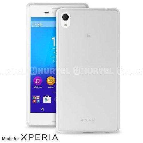 Etui PURO Ultra Slim 0.3 Cover etui + folia na ekran do Sony Xperia M4 Aqua Półprzezroczysty - sprawdź w wybranym sklepie