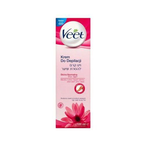 Reckitt benckiser Veet 100ml krem do depilacji skóra normalna