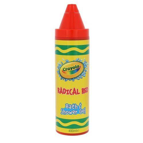 Crayola Bath & Shower Gel żel pod prysznic 400 ml Radical Red, 77062