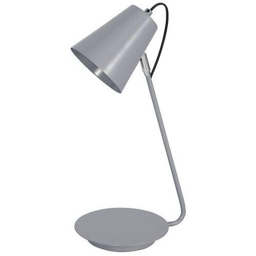 Lampka biurkowa Luminex Table Lamps 8298 lampa stołowa 1x60W E27 szara, 8298