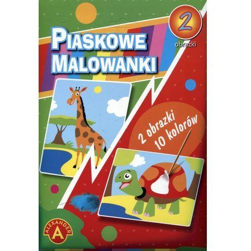 Alexander Piaskowe malowanki - żyrafa, żółw alex (5906018017120)