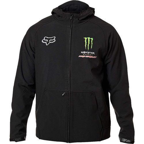 Fox Kurtka - fox monster pc bionic jacket black (001) rozmiar: l