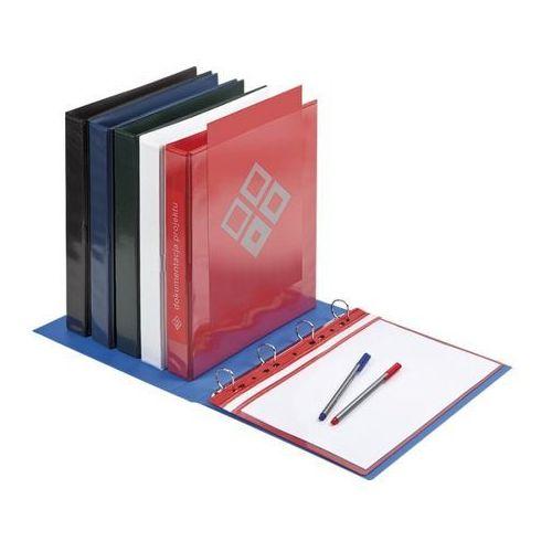 Segregator ofertowy a4 panorama , 70 mm, czerwony - autoryzowana dystrybucja - szybka dostawa - tel.(34)366-72-72 - sklep@solokolos.pl marki Panta plast
