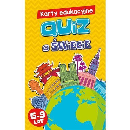 Karty edukacyjne. quiz o świecie marki Edgard