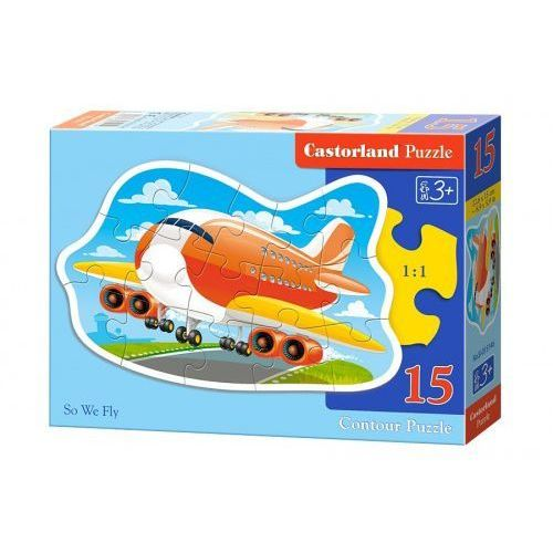 Castor 15 elementów samolot
