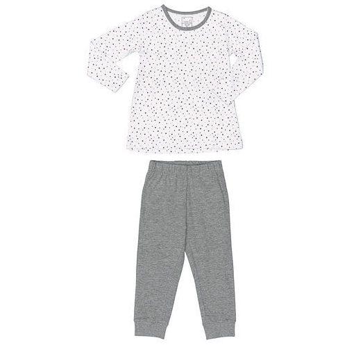 Name it  girls piżama 2-częściowa bright white (5712835412174)
