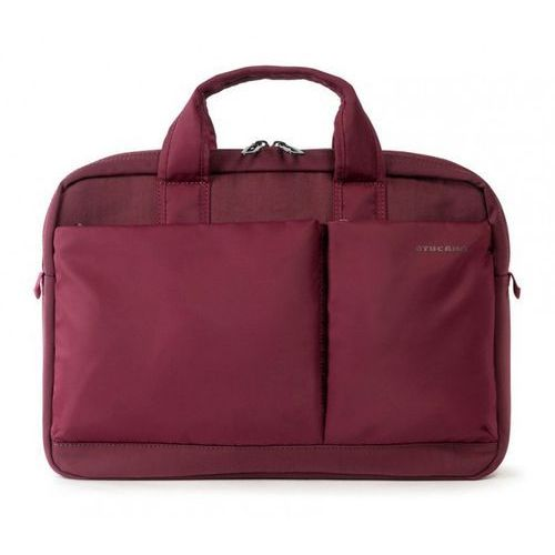 "Torba Tucano Più Bag S do notebooka 13.3"" - 14"" i MacBooka Pro 13"" Retina (bordowa), kolor czerwony"