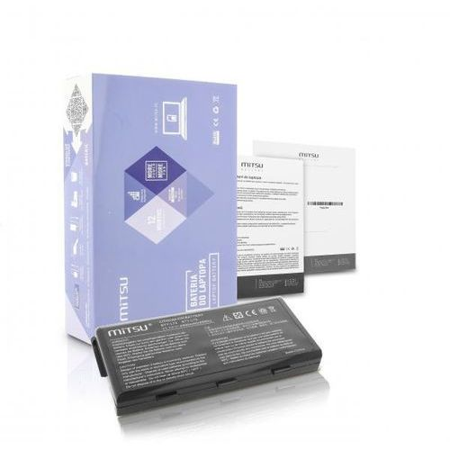 Mitsu Akumulator / nowa bateria do laptopa msi cr500, cr620