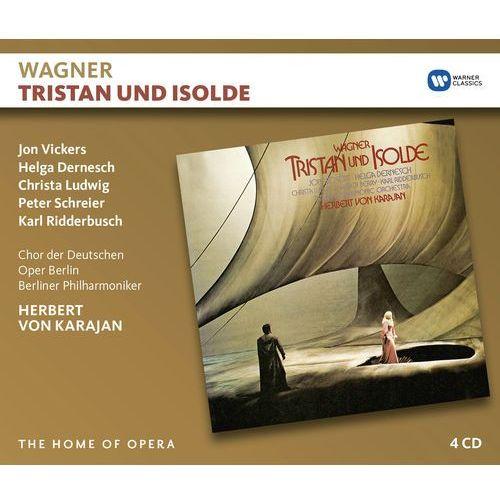 Wagner: tristan und isolde - herbert von karajan (płyta cd) marki Warner music