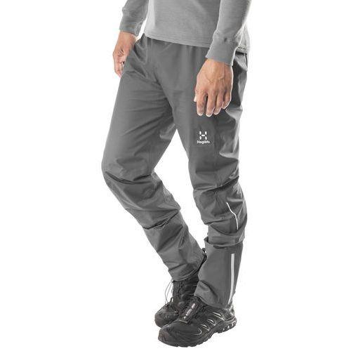 Haglöfs L.I.M Comp Spodnie długie Mężczyźni szary XL 2018 Spodnie turystyczne (7318841104447)