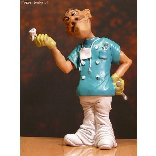 Figurka Dentysta z zębem