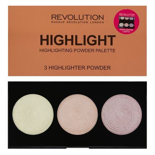 Revolution Makeup, Highlighter Palette, Rozświetlacze Highlight, 15 g
