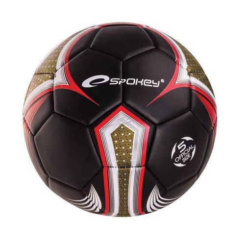 Piłka nożna  835914 velocity spear srebrno-niebieski (rozmiar 5) marki Spokey