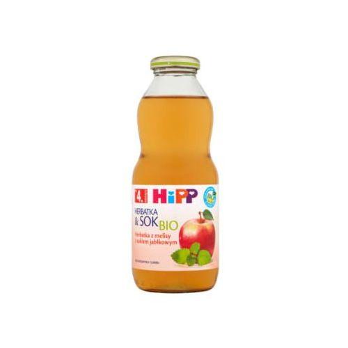 HIPP 500ml Herbatka z melisy z sokiem jabłkowym po 4 miesiącu życia Bio