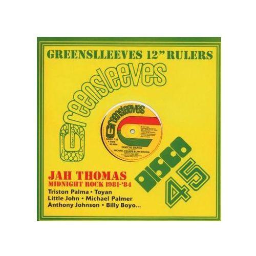 """Thomas, Jah - Greensleeves 12"""" Rulers - Midnight Rock 1981-84 - produkt z kategorii- Reggae, dub, ska"""