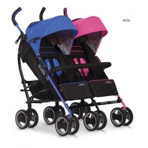 Wózek Bliźniaczy EasyGo Duo Comfort Mix