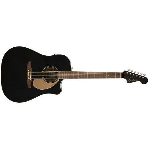 Fender Redondo Player, Walnut Fingerboard, Jetty Black gitara elektroakustyczna