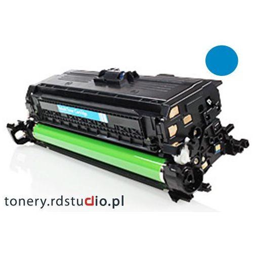 Toner do HP CP4025 HP CP4525 HP CM4540 - Zamiennik HP CE261A Cyan Darmowa wysyłka
