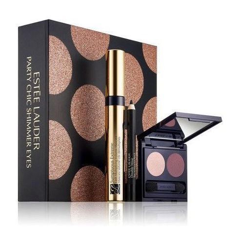 ESTEE LAUDER Sumptuous Extreme Volume Lash Mascara Black 8ml + Double Wear Stay-in-Place Eye Pencil 8g + Pure Color Envy EyeShadow