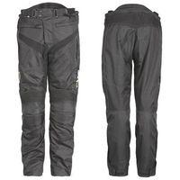 Motocyklowe spodnie W-TEC Anubis wodoodporne, Czarny, S, 1 rozmiar