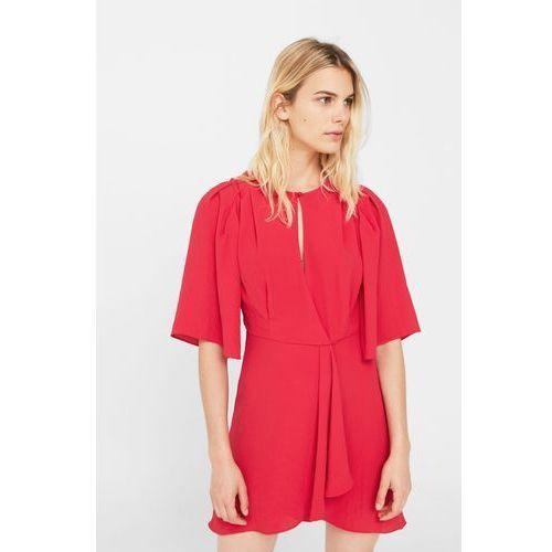 Mango - Sukienka Andre, kolor czerwony