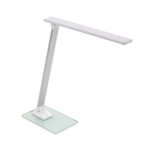 conversana 98248 lampka stołowa biurkowa 1x3w led srebrna marki Eglo