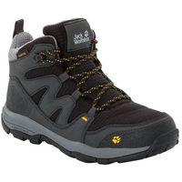 Jack wolfskin Buty trekkingowe dziecięce mtn attack 3 texapore mid k burly yellow xt - 30 (4060477100937)