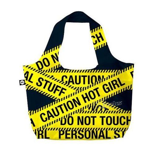 Bg berlin eco bags eco torba na zakupy 3w1 - caution (6906053042056)