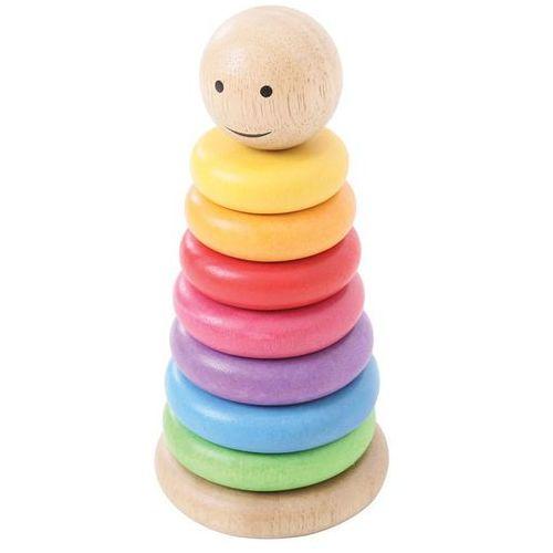 Bigjigs toys nakładki na tyczkę - kolorowy manekin