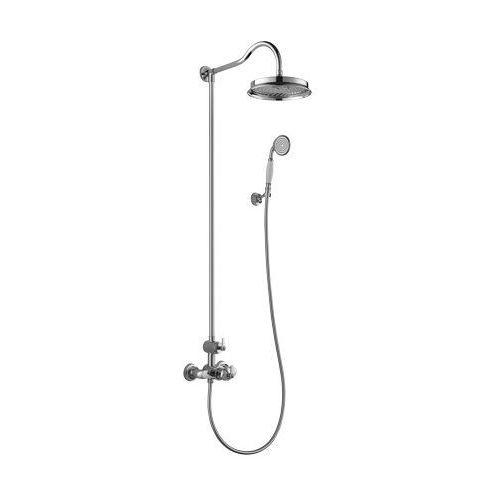 Zestaw prysznicowy natynkowy z termostatem am5244/6 cr marki Omnires