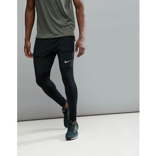 hybrid joggers in black aa4199-010 - black marki Nike running