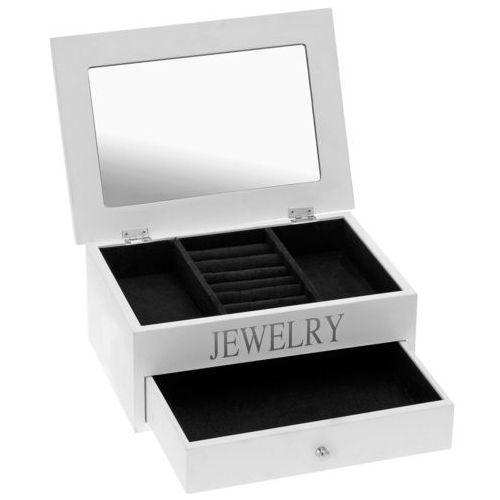 Drewniana szkatułka na biżuterię jewelry, marki Emako