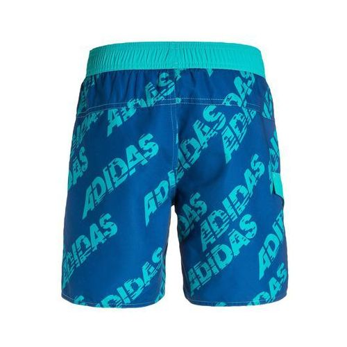 f8f51ae650962e ... OKAZJA - adidas Performance Szorty kąpielowe blue/shock green  (4056562735139) ...