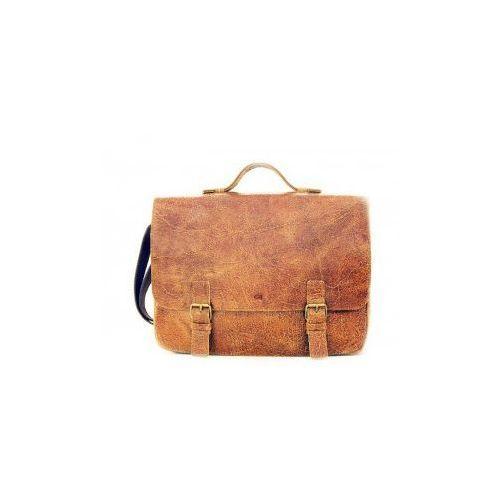 """JAZZY WANTED 24 torba/ teczka skóra naturalna firmy Daag na ramię unisex z miejscem na laptopa 15,4"""". Najniższe ceny, najlepsze promocje w sklepach, opinie."""