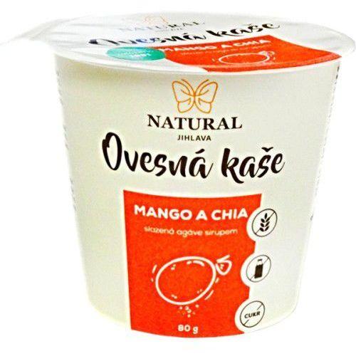 Owsianka z mango i chia 80g NATURAL, 2297